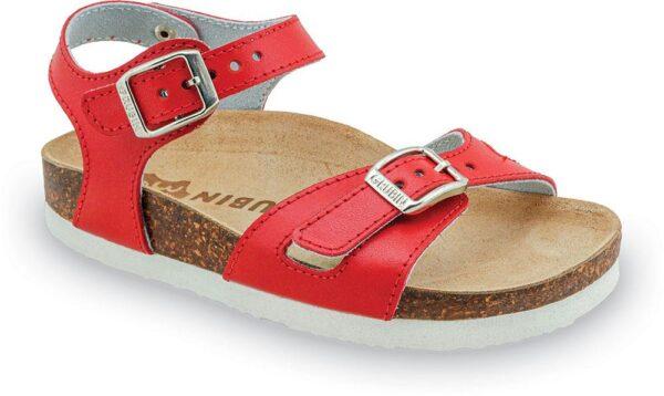 0110104314 rio decije sandale crvene