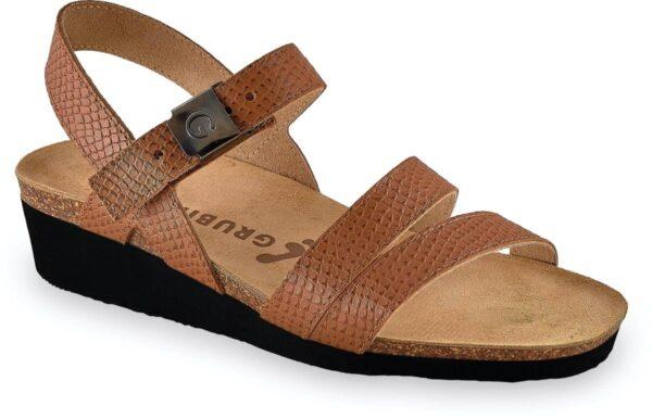lucca sandale 1263610 braon zmija