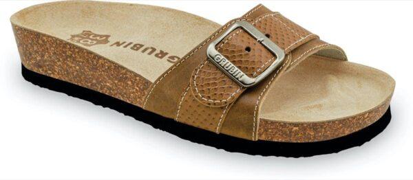 papuce tifani 2473630 braon platno