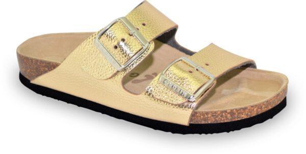 grubin 0033660 arizona teen letnja papuca zlatna